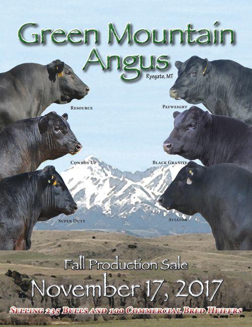 GMAR 2017 Fall Production Sale Catalog