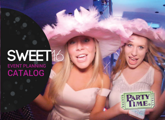 Sweet 16 Event Planning Catalog