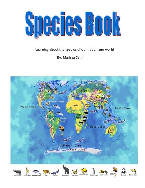 Marissa's Species Book