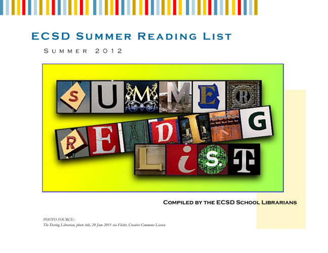 ECSD Summer Reading List