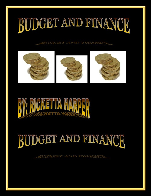 ricketta harper budget and finance