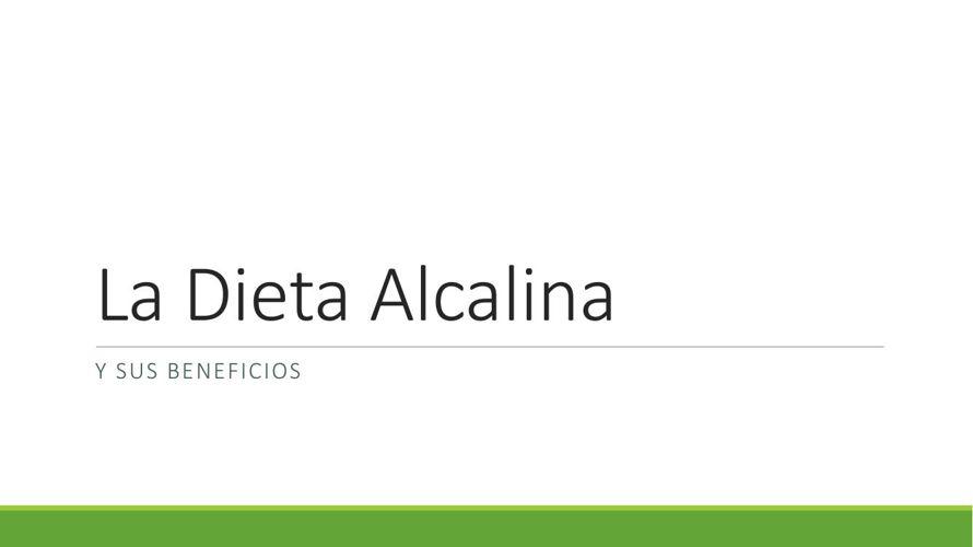 La Dieta Alcalinaa