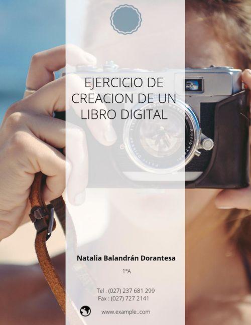 Ejercicio de creación de un libro digital