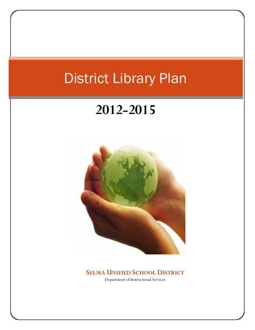 District Library Plan 2012-2015