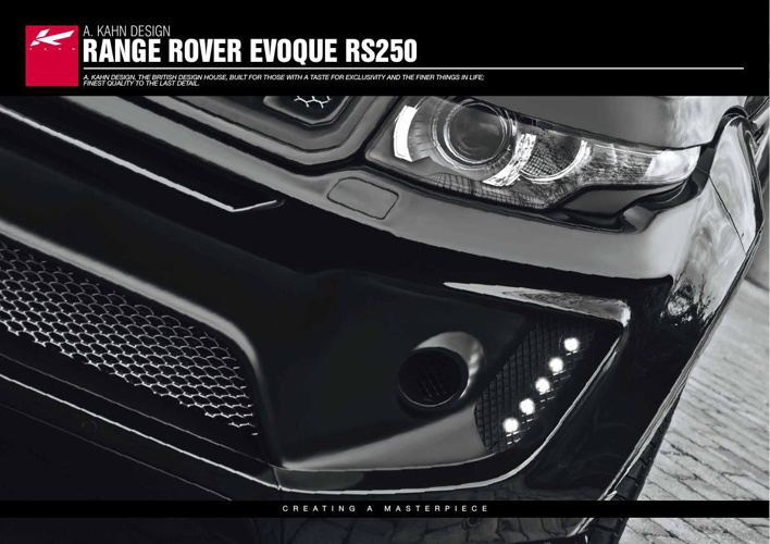Kahn Design_Range Rover Evoque RS250