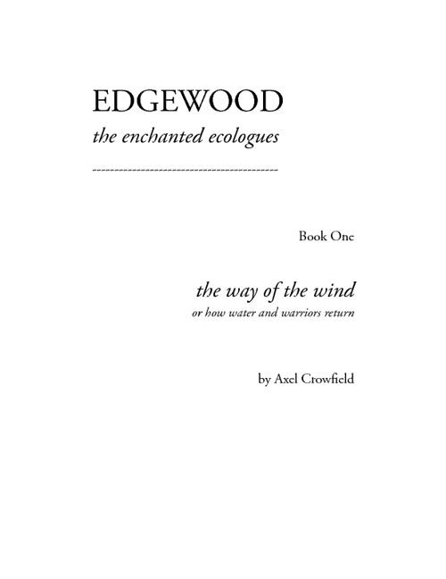 Edgewood Book pt.1