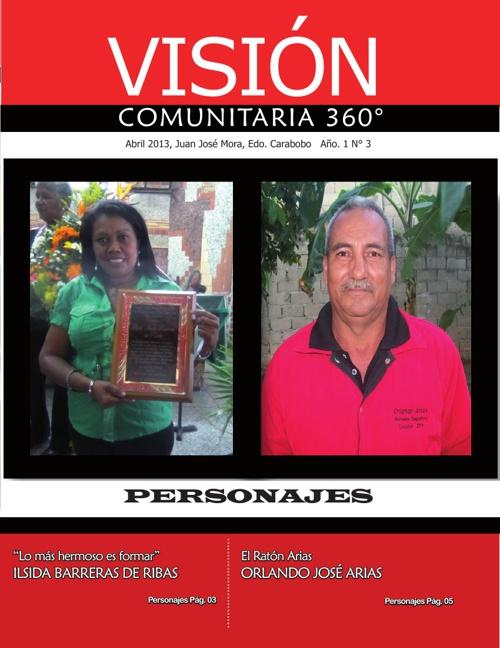REVISTA VISIÓN COMUNITARIA 360 3era EDICIÓN