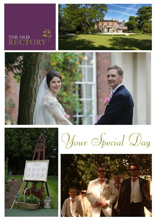 The Old Rectory Wedding Brochure