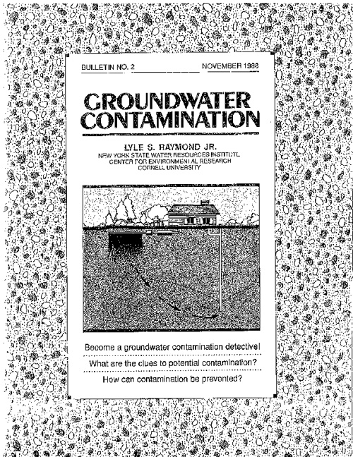 Groundwater Contamination Part 1