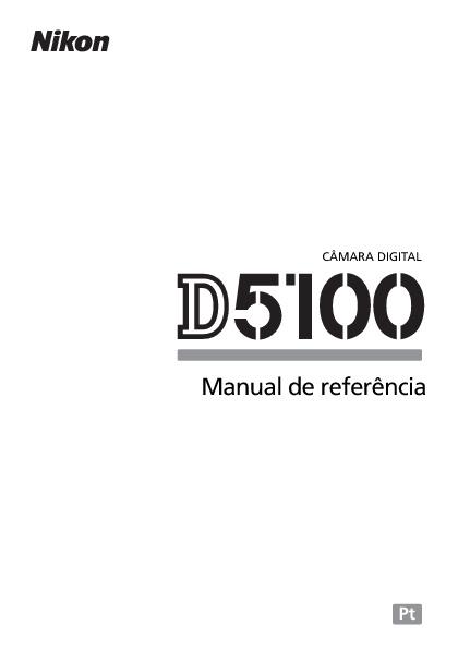 Manual Nikon D5100 [PT]
