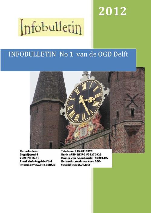 infobulletin No1 2012