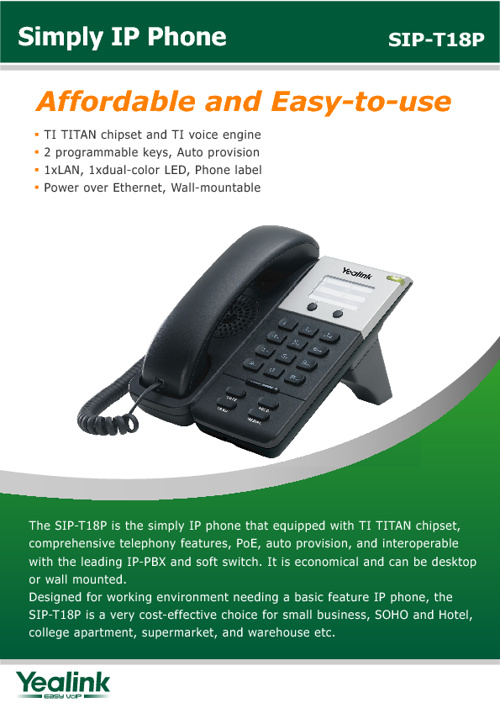 ATSnexgen and Yealink IP Phones