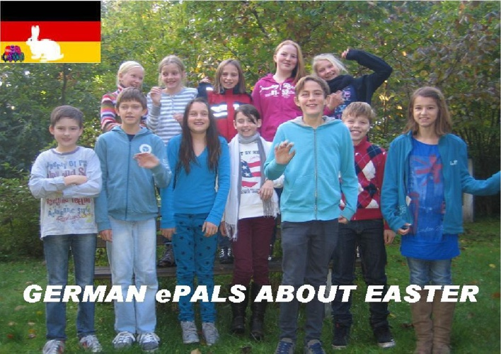 German Easter / Claudia's students
