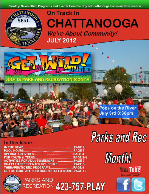 July's On Track in Chattanooga Monthly Newsletter