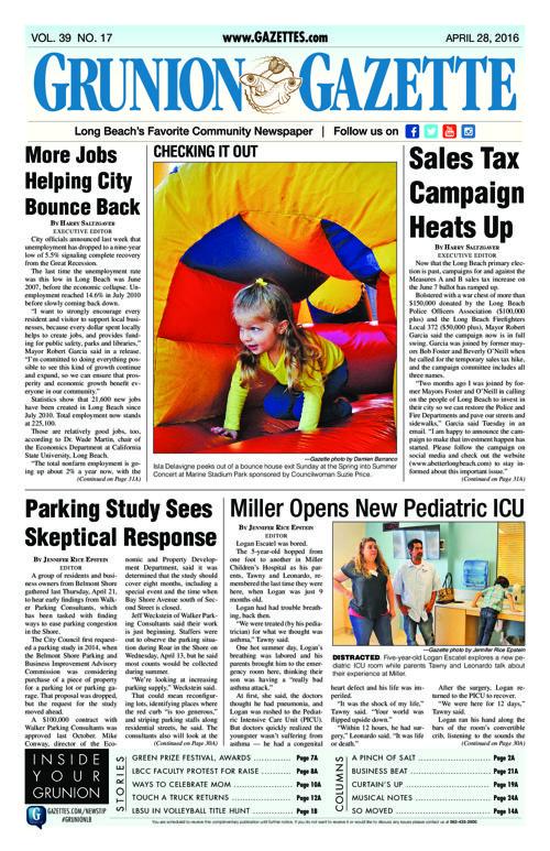 Grunion Gazette   April 28, 2016
