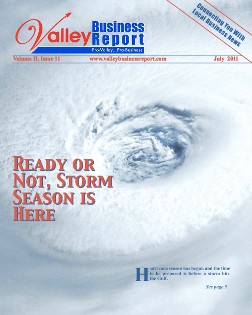 Valley Business Report, July 2011