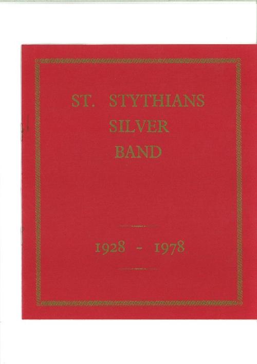 St Stythians Silver Band - 1928-1978