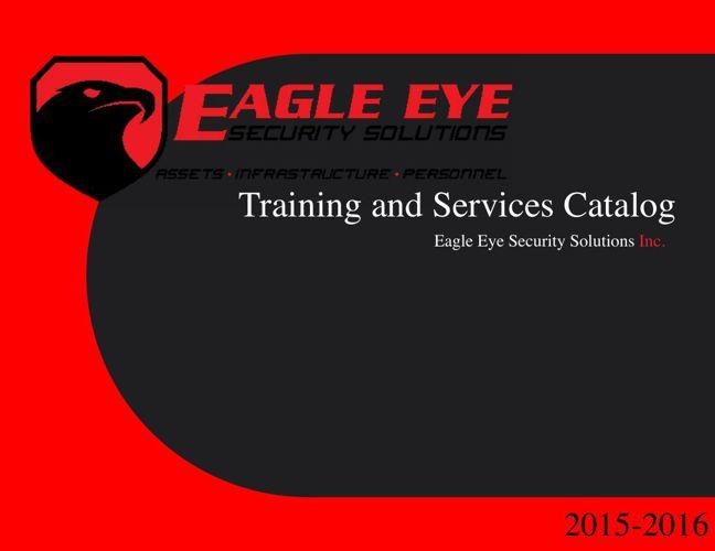 EESS Training DEC 2015-16