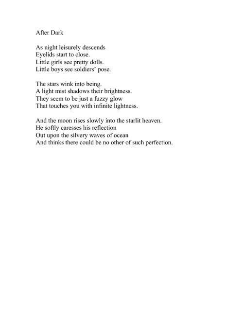 Poetry & Limericks   By: Caron Rider