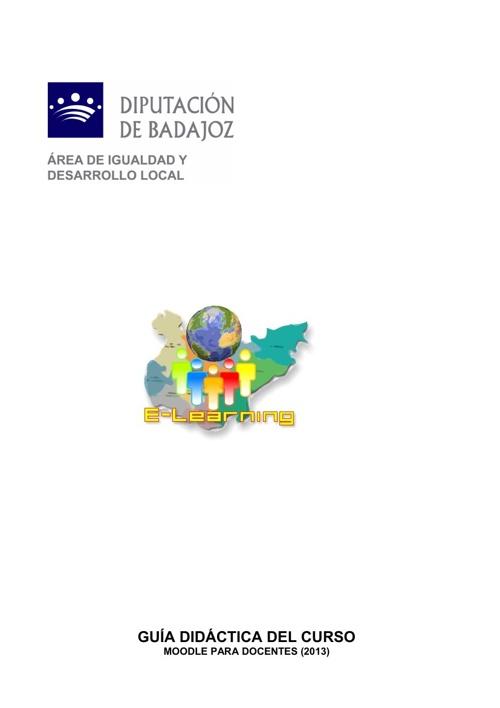 """Guía didáctica del curso """"Moodle para docentes"""" (MOODLE-5)"""