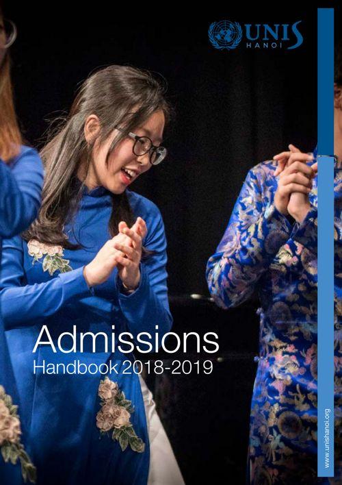 Admissions Handbook 2018-2019