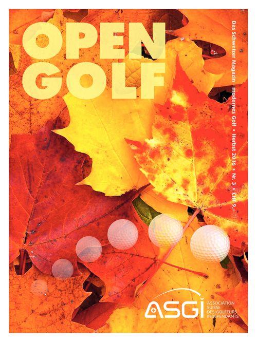 Open Golf n°3 - Herbst