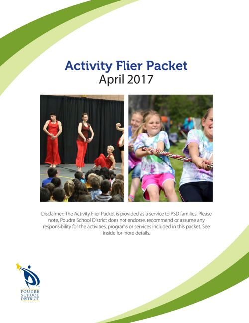 April Activity Flier Packet