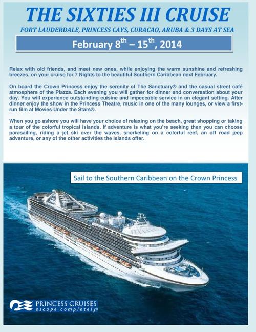 Sixties III Cruise