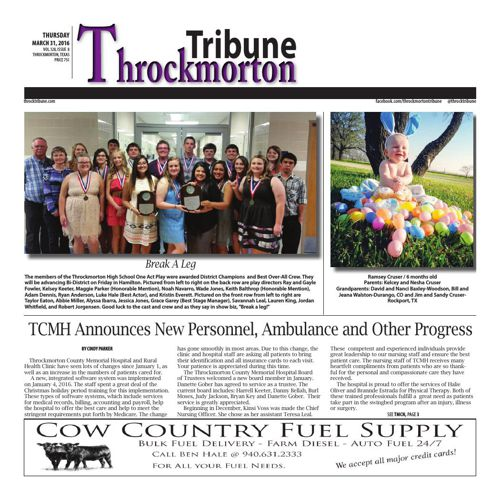 Throckmorton Tribune wk 42