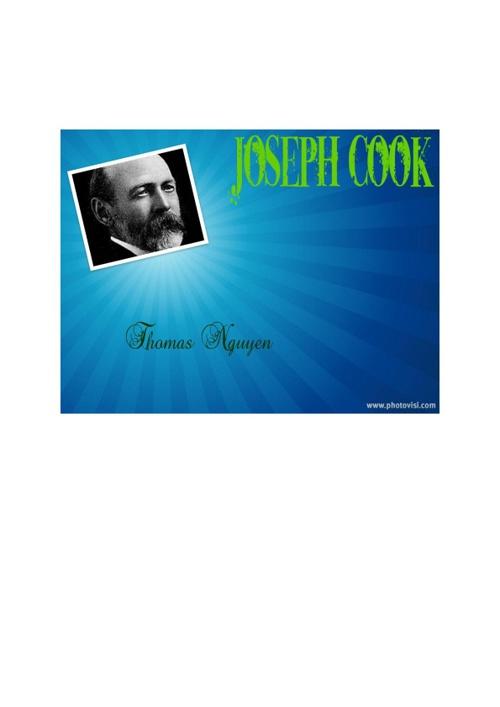 Joseph Cook Report