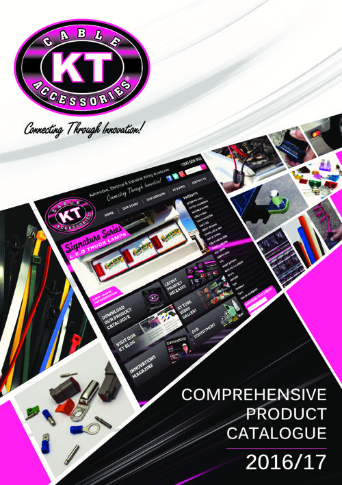 KT COMPREHENSIVE PRODUCT CATALOGUE 2016-17