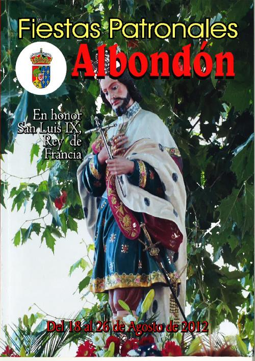 Libro Fiestas Albondon 2012