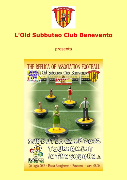 Subbuteo Camp Benevento (2012)