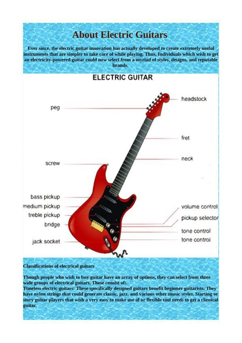 About Electric Guitars
