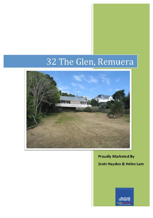 32 The Glen - Remuera