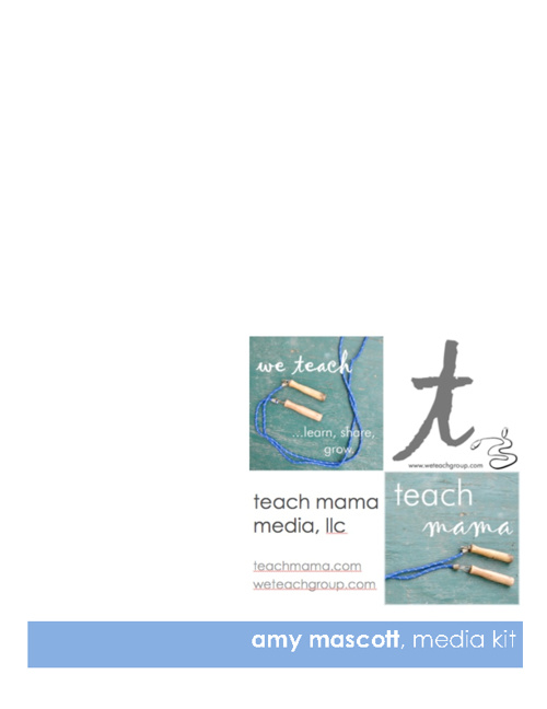 teach mama media, llc media kit 8/2012
