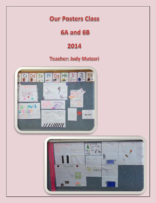 6B AND 6A POSTERS
