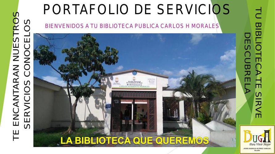 Portafolio Biblioteca