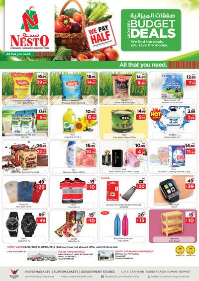 Nesto Mid Week Budget Deals