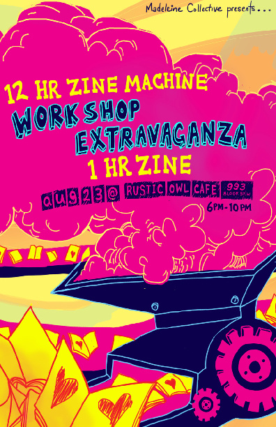 1 HR Zine Machine Workshop Extravaganza Zine