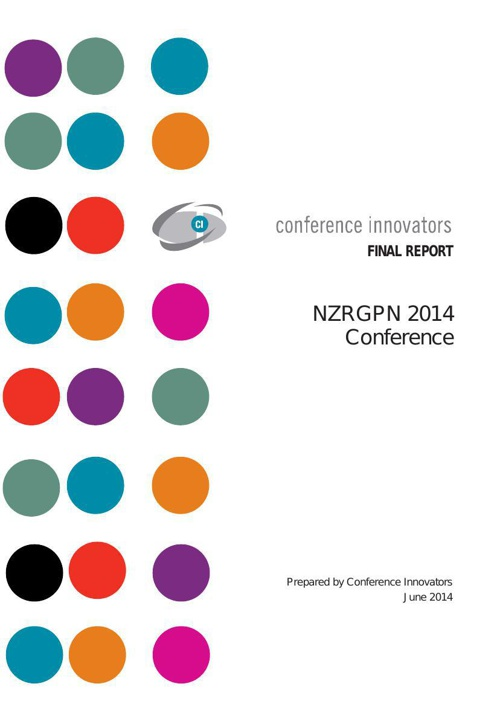 NZRGPN 2014 Final Conference Report
