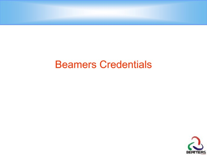 Beamers Catalog