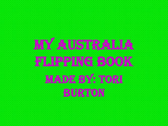 Tori Australia