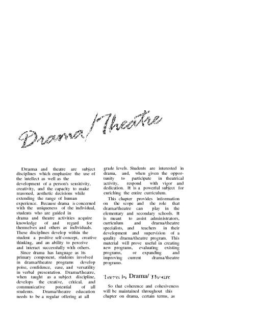 Drama&Theater