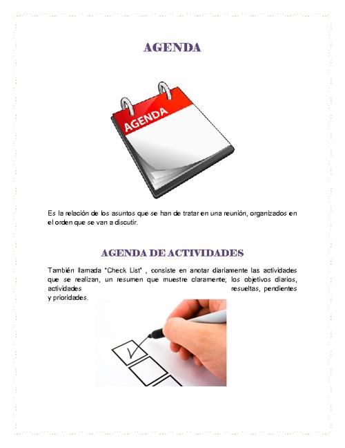 Agenda-Margarita Valencia