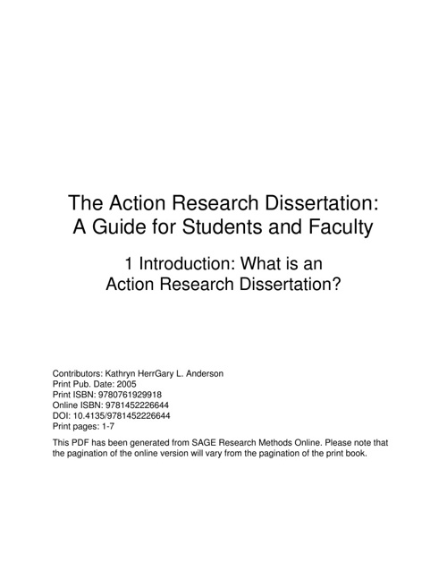 New Flip Action Research Dissertation