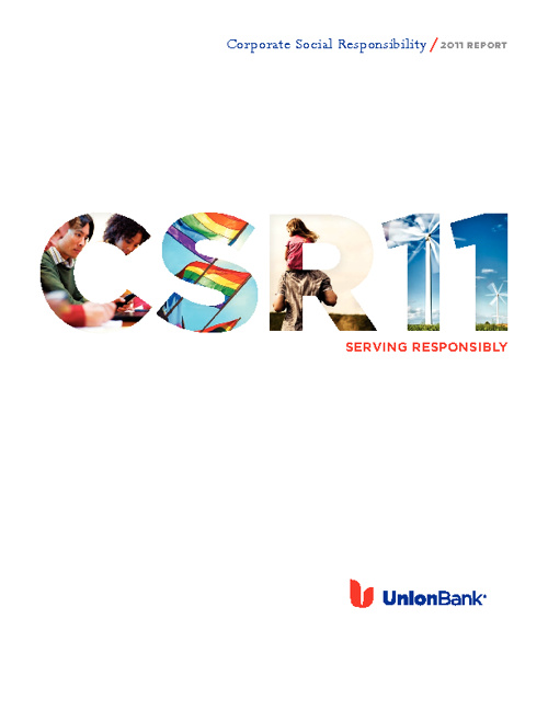 Union Bank 2011 CSR Report