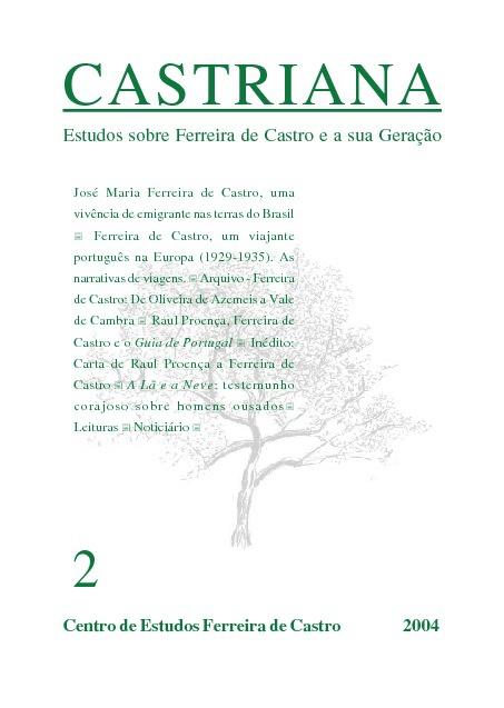 CASTRIANA 2 - Centro de Estudos Ferreira de Castro