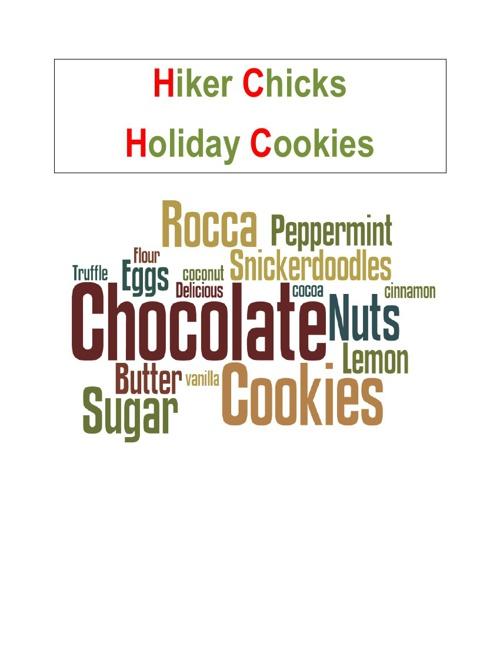 Hiker Chicks Cookies
