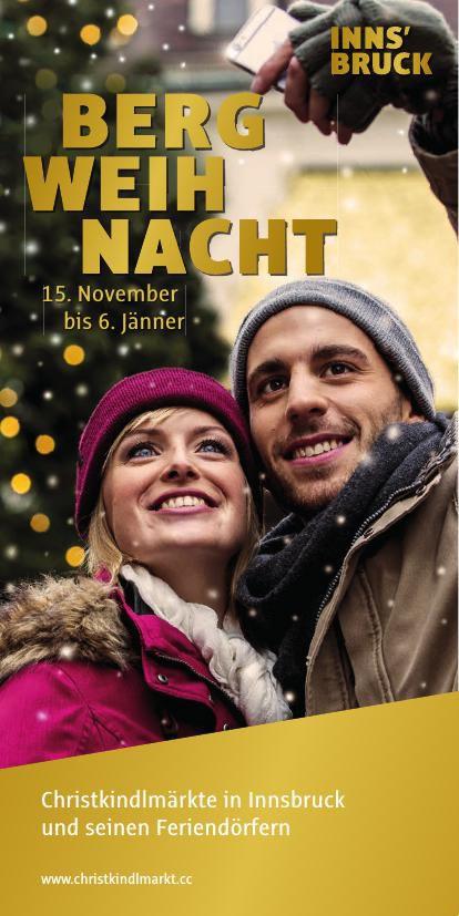 Innsbrucker Bergweihnacht Programm 2015